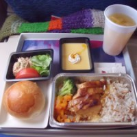 Gastronomia: Comidas de avião
