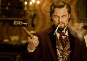Leonardo DiCaprio em DJANGO LIVRE