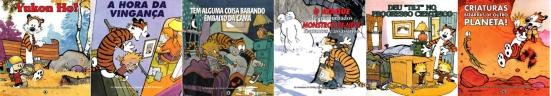 Calvin e Haroldo livros 2